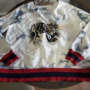 Pam and gela embroidered sweatshirt